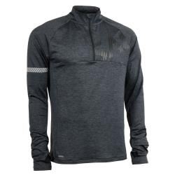 Clothing - Salming Phase Halfzip Jacket Men Dark Grey