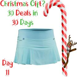 30 Deals in 30 Days, Clothing - Salming Strike Skirt Turquoise