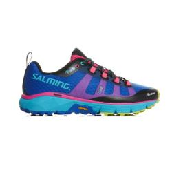 Salming Running - Salming Trail 5 Womens Running Shoes Blue Pink