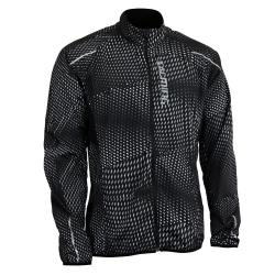 Clothing - Salming Ultralite Jacket Men Black All Over Print