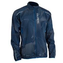 Clothing - Salming Ultralite Jacket Men Poseidon All Over Print