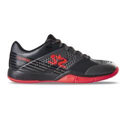 Squash Shoes - Salming Viper 5 Shoe Men Gunmetal/Lava Red