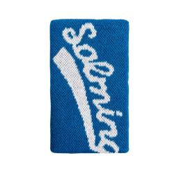 Squash Accessories - Salming Wristband Long Blue White