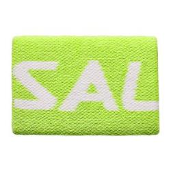 Squash Accessories - Salming Wristband Mid Lime Punch White
