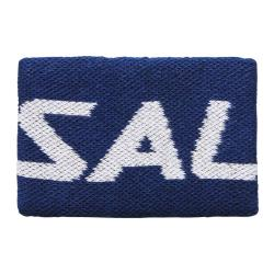 Squash Accessories - Salming Wristband Mid Single Navy/White