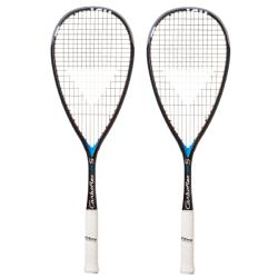 Squash Racquets - Tecnifibre Carboflex 135S Black Blue Two Pack EXCLUSIVE