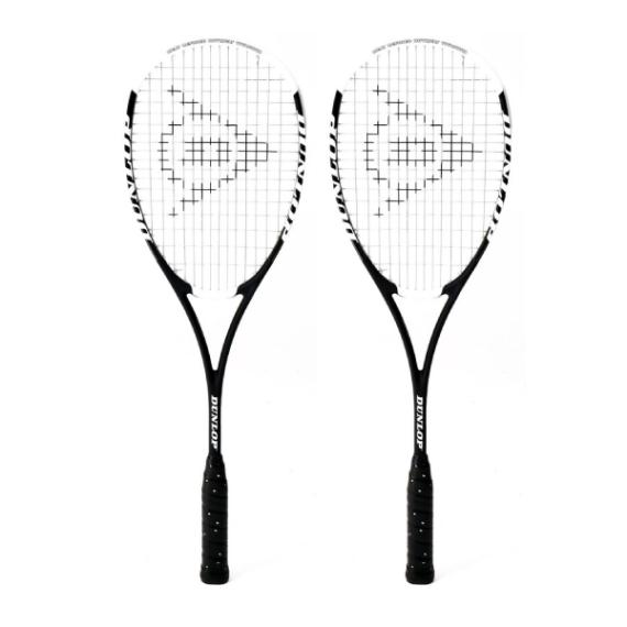 Squash Racquets - Dunlop Hot Melt Pro  Squash Racquet Two Pack