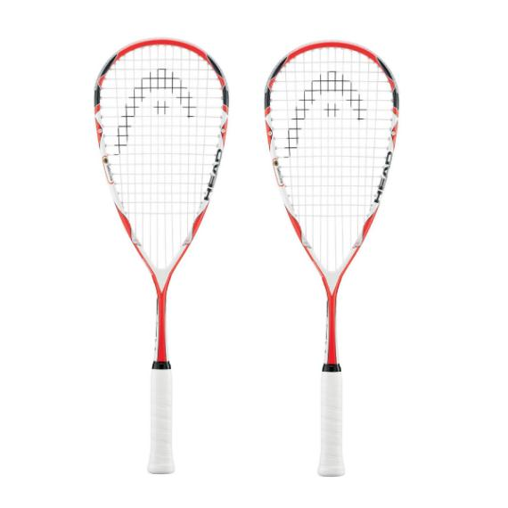 Squash Racquets - Head Microgel 145 Squash Racquet Two Pack
