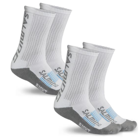 Clothing - Salming Advanced Indoor Sock White 2 Pack