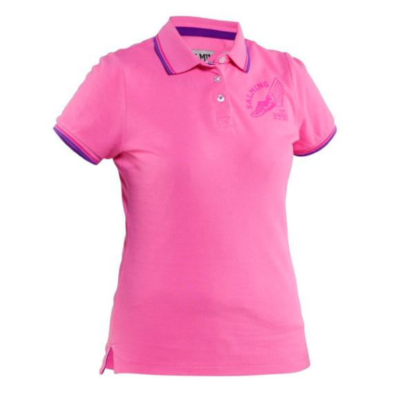 Massive Clothing Clearance - Salming Ivy Polo Womens Pink