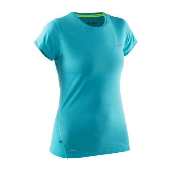Massive Clothing Clearance - Salming Short Sleeve Tee Ceramic Green