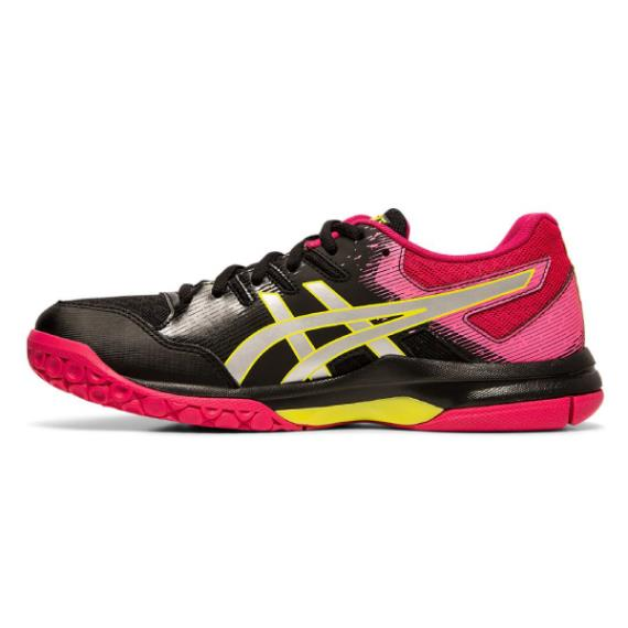 Squash Shoes - Asics Gel Rocket 9 Women Black Silver 2019