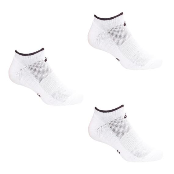 Clothing - Asics Pace Low Sock White Black 3 Pack