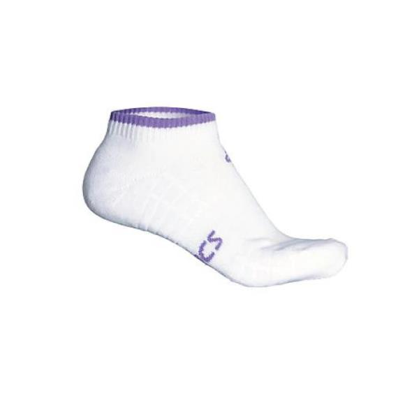 Clothing - Asics Pace Low Sock White Lavender