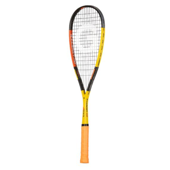 Squash Racquets - Grays Illusion 110 Squash Racquet Yellow Orange