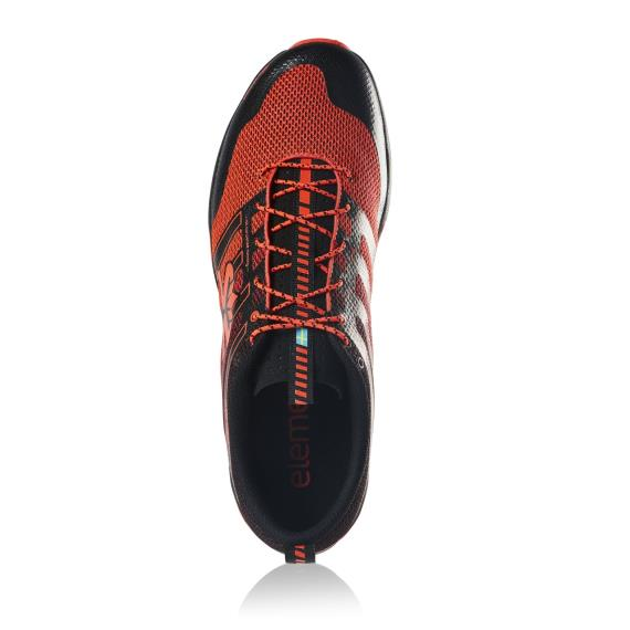 Salming Running - Salming Elements Black/Orange Mens Trail Running Shoes New