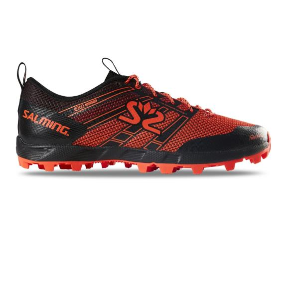 Salming Running - Salming Elements Black/Orange Womens Trail Running Shoes New