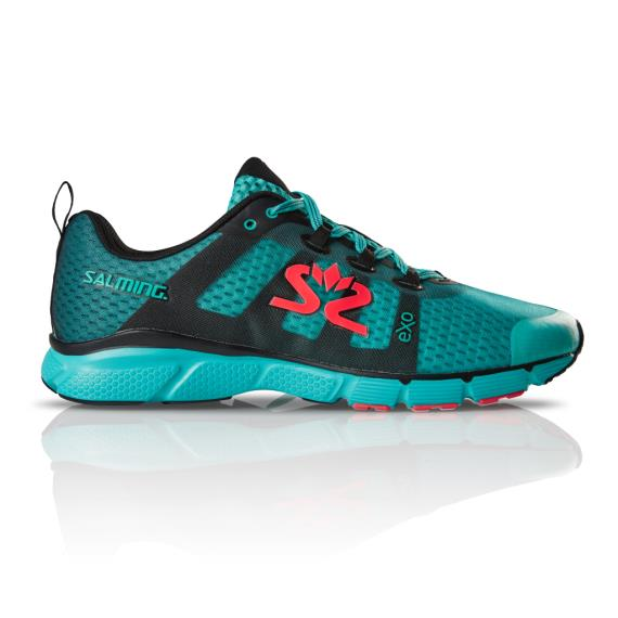 Salming Running - Salming Enroute 2 Mens Running Shoes Petrol Green