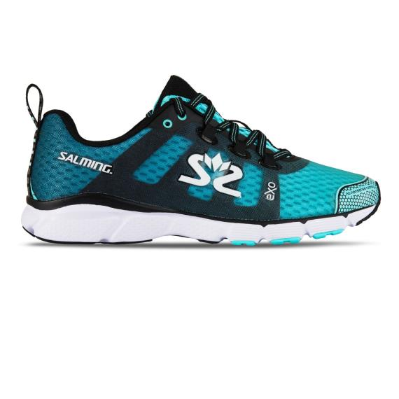 Salming Running - Salming Enroute 2 Womens Running Shoes Blue Black