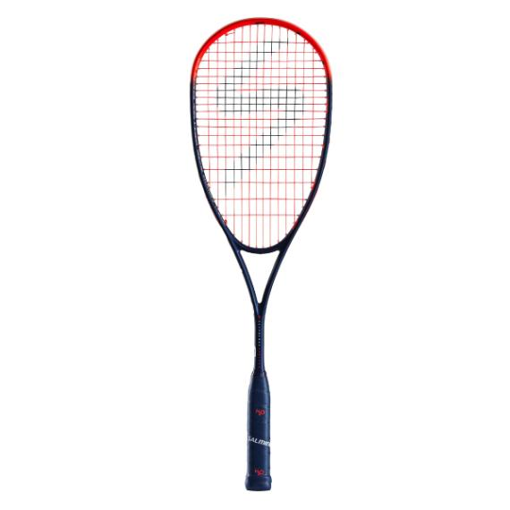Squash Racquets - Salming Fusione Powerlite Poseidon Blue/Red Racquet 2019