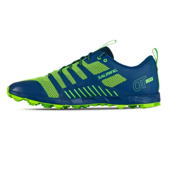 Salming Running - Salming OT Comp Men Blue/Yellow Trail Running Shoe New
