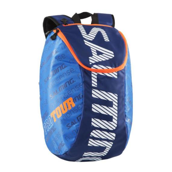 Squash Bags - Salming Pro Tour Back Pack Blue Orange