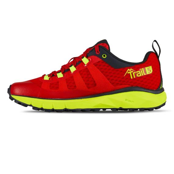 Salming Running - Salming Trail 5 Womens Running Shoes Poppy Red/Yellow