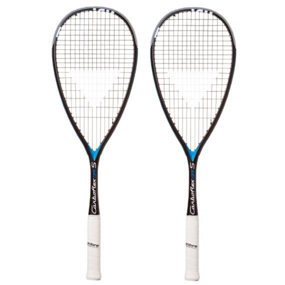 6166886d0 Squash Racquets - Tecnifibre Carboflex 135S Black Blue Two Pack EXCLUSIVE