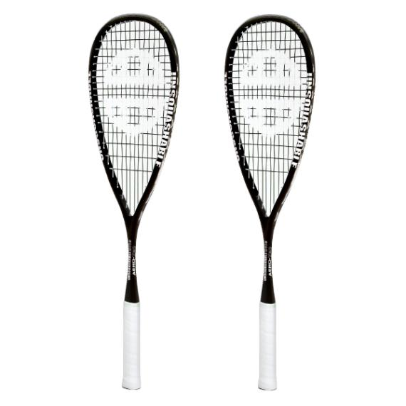 Squash Racquets - UNSQUASHABLE Aero-tec 120 Two Pack
